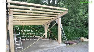 Construire Un Abri Voiture En Bois