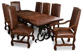 nice iron dining room chairs with wrought iron