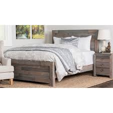 reclaimed wood bed frame. The Gray Barn Windswept Reclaimed Wood Bed Frame D