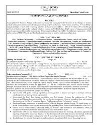 Sample Business Analyst Resume Business Analyst Resume Skill Example of Business Analyst Resume 51