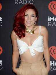 Sharna Burgess Attends The 2016 Iheartradio Music Festival At T