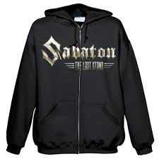 black Sabaton Hoodie Blabbermouth Kill Shoot To