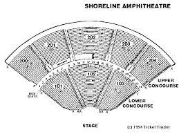 Shoreline Amphitheatre Seating Chart Box Seats Organized Shoreline Amphitheatre Seating Chart Seat Numbers