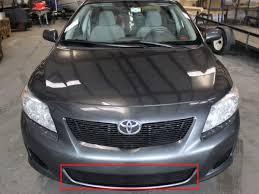 2009 Toyota Corolla Le 2Pc Bumper Accent Billet Grille Kit