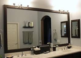 Bathroom Mirror Ideas White Ornament Hanging On Green Wall ...