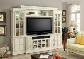 ... Wall Units, Home Entertainment Wall Units Riverside Entertainment  Center Cool White Tv Cabinet With French ...