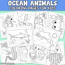 Do not forget to share your experience with us. Ocean Animals Coloring Pages For Kids Itsybitsyfun Com