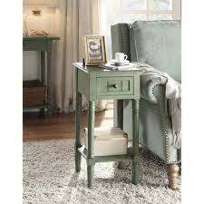 d concepts simplicity cottage green end table  the home depot