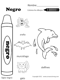 Z'onae Coloring /education/colors/colors-worksheets-1/spanish ...