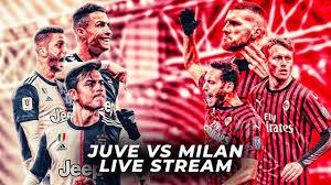 JUVENTUS VS AC MILAN LIVE COPPA ITALIA STREAM - YouTube