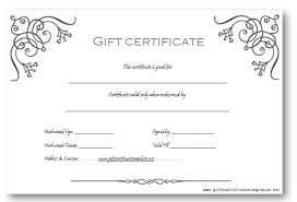 Microsoft Word Certificate Templates gift certificate templates for word free gift certificate template 64