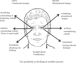 Lying Eye Chart How To Access Someones Thoughts Using Only Their Eye