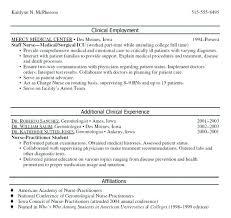 Nurse Practitioner Sample Resume Best Nurse Practitioner Resume Clinical Employment Nurse Practitioner