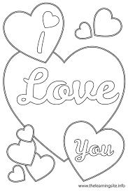Love Heart Coloring Pages L L L L L L L Duilawyerlosangeles