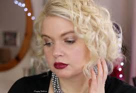 modern 1920s femme fatale makeup look tutorial