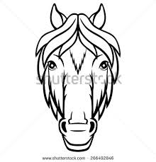 horse face drawing front. Unique Face Vector Horse Front Face Free Vector Download 2974 Free Vector For  Commercial Use Format Ai Eps Cdr Svg Illustration Graphic Art Design Intended Horse Face Drawing Front