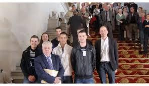 zoom. Des apprentis de Haute-Loire au Sénat
