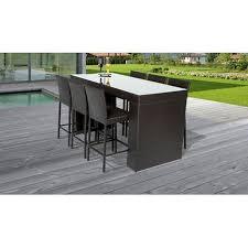 fernando bar table set with barstools 7
