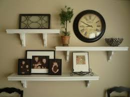 surprising living room wall shelves