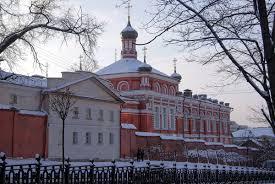 Рождественский монастырь Москва Википедия