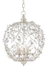 crystal bud sphere chan by currey and company currey co