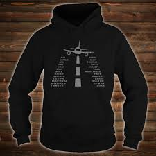 A spelling alphabet is a set of words used to stand for the letters of an alphabet in oral communication. Official Airplane Pilot S Phonetic Alphabet Shirt Hoodie Tank Top And Sweater