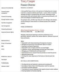 director of finance resume sample finance resume 11 examples in word pdf