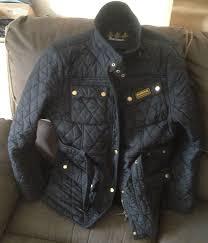 Womans Black 18 Ladies Quality Barbour International Quilted ... & Womans Black 18 Ladies Quality Barbour International Quilted Jacket -  Equestrian | eBay Adamdwight.com