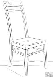 Exellent School Chair Drawing How To Draw A Intended Decor