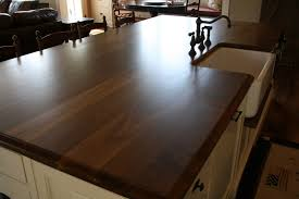Pre Cut Granite Kitchen Countertops Finished Kitchen Creamy With Walnut