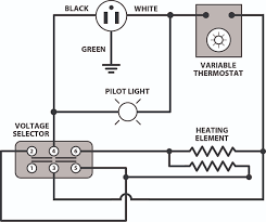 electric oven wiring diagram & wiring diagram for a ge wall oven oven thermostat replacement parts at Universal Oven Thermostat Wiring Diagram