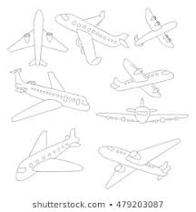Airplane Drawing Royalty Free Airplane Drawing Stock Images Photos Vectors