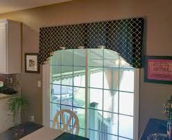 horizontal blinds for sliding glass doors patio window coverings valances for sliding glass doors door window