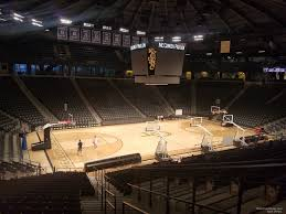 seat view for mccamish pavilion section 111