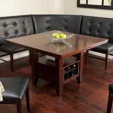 leather breakfast nook furniture. Endearing Bench Style Kitchen Tables 29 Dining Table With And Chairs Upholstered Ideas Collection Storage Of Leather Breakfast Nook Furniture K