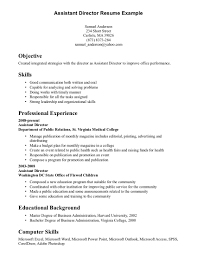 Examples Of Skills On Resumes Examples Of Skills On A Resume On