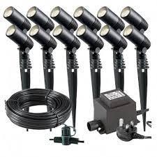 techmar alder led garden lights bundle