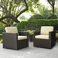 small outdoor wicker patio furniture