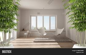 Modern Bamboo House Interior Design Eco Green House Image Photo Free Trial Bigstock
