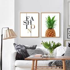 pineapple print fabric pineapple wall art pineapple poster large poster quote fashion on large print fabric wall art with pineapple print fabric pineapple wall art pineapple poster large