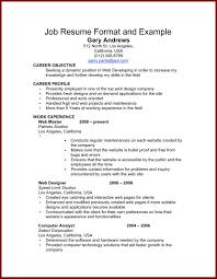 Job Resume Example Resume Peppapp