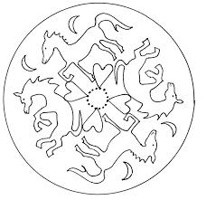 Disegno Da Colorare Mandala Animali 13