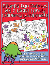 With a song for each letter of the alphabet and several review songs, learning the abcs. Phonics Vol 2 Word Family Coloring Worksheets Heidisongs Heidi Songs