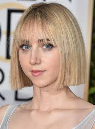 Hairstyles With Blunt Fringe Sorry Long Layers Blunt Haircuts Are Officially In Glamour