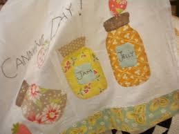 151 best Quilts : jar quilts images on Pinterest   Jars, Stitching ... & Kitchen Quilt Patterns: Bring Joy to the Home! Mason Jar ... Adamdwight.com