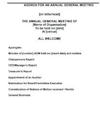 Executive Board Meeting Agenda Template – Agoodmorning.co