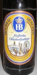 Hofbräu Oktoberfestbier | Hofbräuhaus München | BeerAdvocate