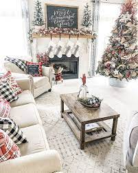 It's so simple but classy. 32 Stylish And Cozy Christmas Living Room Decor Ideas