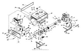 Briggs and stratton power products 9436 0 3w742 5 000 watt dayton generator 5000 watt at diagram