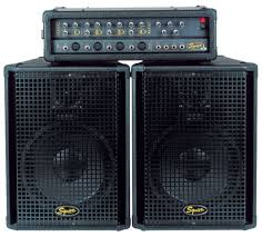 speakers 10 inch. squier 4 ch pa system with 10-inch speakers + 10 inch a